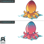 octopus - colour combinations by Bad-Blood