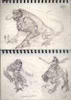 Sketchbook thumbnails by zakforeman