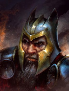 DwarfPortrait by Mikeypetrov
