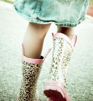 Rain Boots by moiaudreyetvous