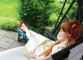 Asuka in a Sundress 5 by JustJac