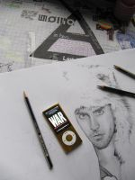 Jared Leto - The Fluffy Cat Master -- WIP by TheJellyKat
