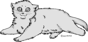 Free kitten lineart by Neosthesia