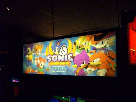 Sonic Fighters Arcade Rochester NY by DragonStar731