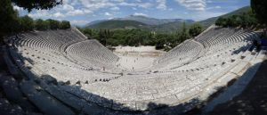 Theatre of Epidaurus by rhipster