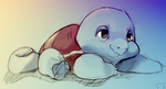 Lazy squirtle by Flixg