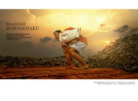 Bangkitlah Indonesiaku . 2 by Riansideproject