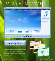WMP 11 Vista Beta by fediaFedia