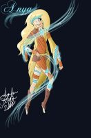 Anya the Air Bender by Valokuvaus-Valhe