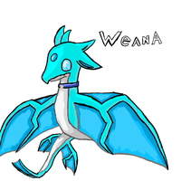 Weana the skywing dragon by speedcow12
