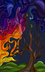 All the Colors in the Sky by NightmareCrow