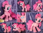 Pinkie Pie Plushie by ButtercupBabyPPG
