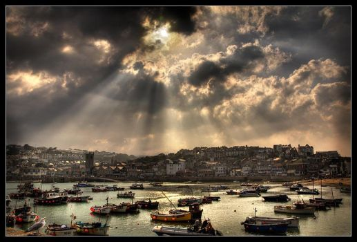 St. Ives Skies by didumdidum