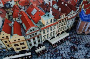 Old Town Square by mikewheels