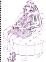2012 :: Monster High - Frankie Stein by PinkAppleJam