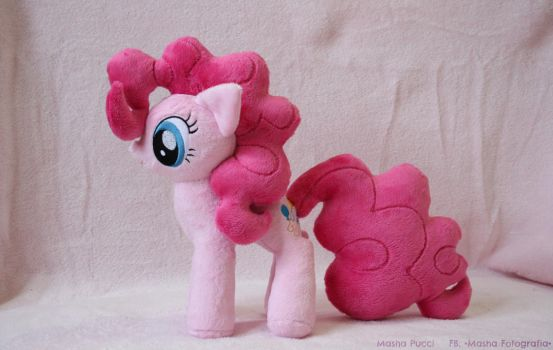 My Little Pony - Pinkie Pie Plush by Masha05