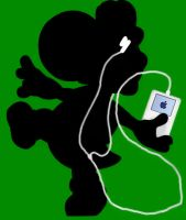 Yoshi - the new ipod icon by engelasche