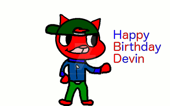 Happy Birthday Devin by gumballcariedarwin