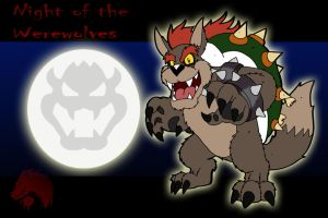 Night of the Werewolves: Bowser by Chibi-Tediz