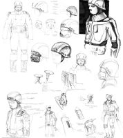 cave explorer sketches by IS86