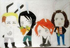 my chemical romance by jotaerre24