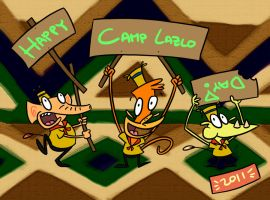 Happy Camp Lazlo Day 2011 by Netaro