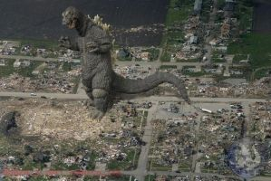 Godzilla in the Neighborhood by WoGzilla