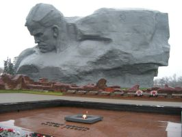 The Brest Fortress Monument by r3code