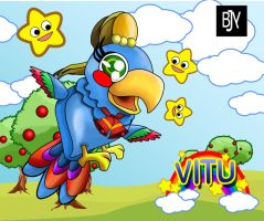 Parrot4 by Ynion