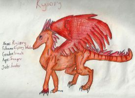 dragon Kyiiory by CanineCriminal