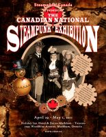 Steampunk Exhibition Poster by Kittensoft