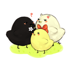 Chicks by MaryLittleRose
