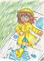 Sketchbook #1: Playing in the Rain by Cassyhattori63