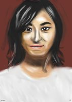 Woman face study n37 by lv888