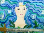 I give you Excalibur.... Lady of the Lake by aradia1015