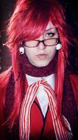 Kiss from Grell X3 by opiumhyde