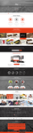 Just - One Page Web Templates Design by GokhanKara00