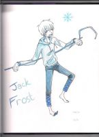 Guardians Jack Frost colored by TripOverFlatSurfaces