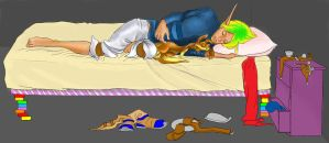 Jak and Daxter by theworldisquiet-here