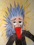 Axel's bad hair day by My13Memories