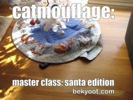 Catmouflage Santa Edition by lafhaha