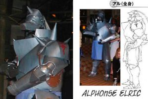 Alphonse Armor from FMA by AmethystArmor