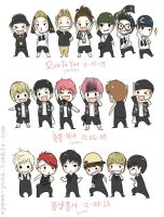 My favourite cover perf outfits by syewe-yoss