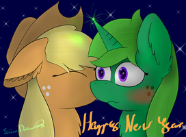 Happy new year my little Lime *giggle* by LimeDreaming