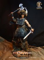 Conan the Barbarian (Battle of the Mounds version) by CalvinsCustom