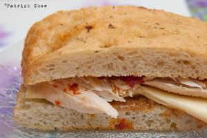 Chicken sandwich by patchow