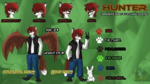 [Trade] Hunter reference sheet by Ryuuken-Master
