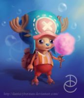 Tony Tony  Chopper by DanteCyberMan