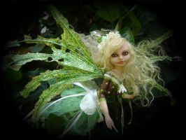 Tattered Fairies OOAK Fairy 4 by LindaJaneThomas
