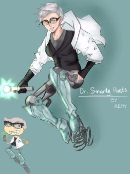 Dr. Smarty Pants (poptropica's card game) by RemyCygnus1601